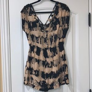 The dye romper from Urban Outifiters